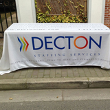 custom 4ft tablecloths