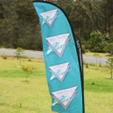 custom feather flag cheap