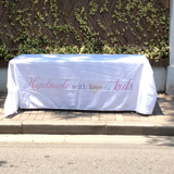 full color print table covers