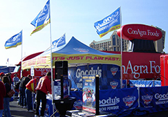 Trade show tents