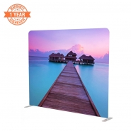 Straight 246cm Stretch Fabric Display