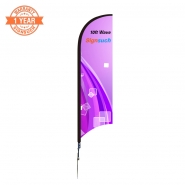 Wave 3.5M  Feather Flags Kits