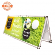 Aluminium Pop Up A Frame Banner with Printing